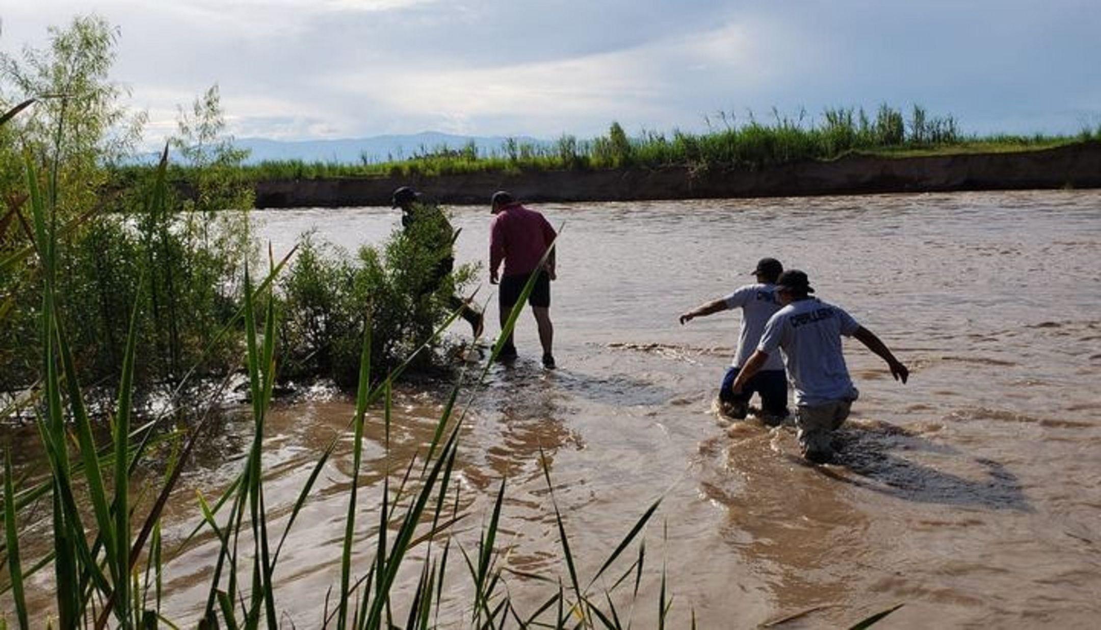 Jujuy: un hombre murió ahogado al intentar rescatar a un nene en el río Lavayén