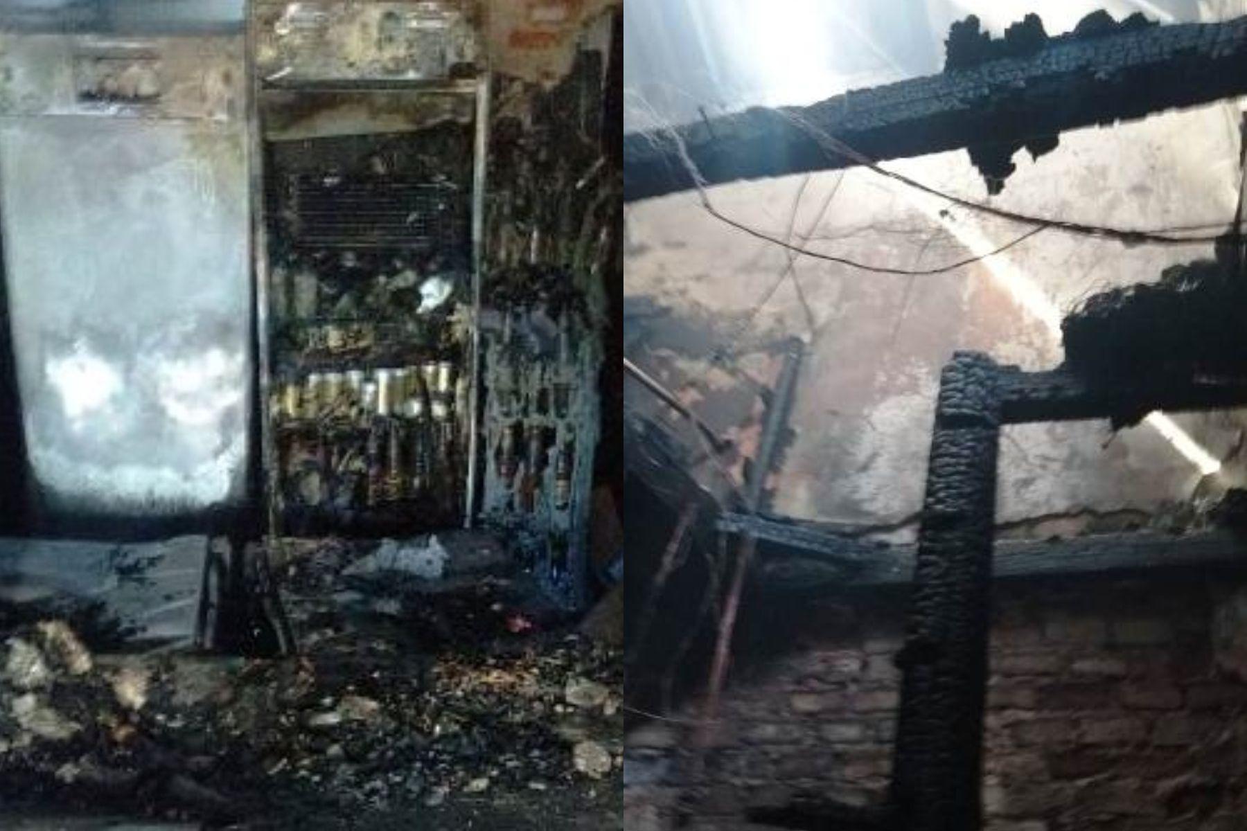 Explosión e incendio en un boliche de Posadas: hay peligro de derrumbe