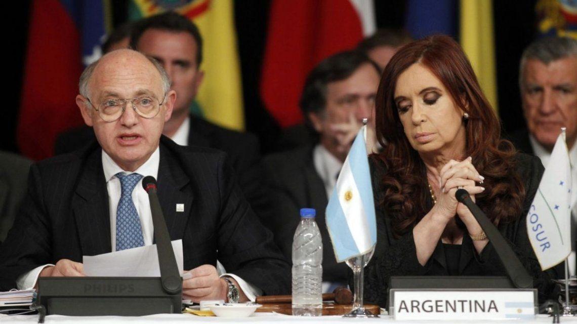 Cristina Kirchner lamentó la muerte de Héctor Timerman
