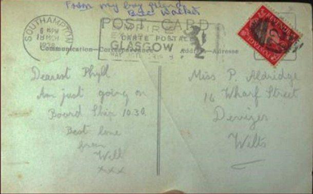 Le llegó una carta de su novio desaparecido hace 70 años - Crédito: Trevor Porter / SWNS