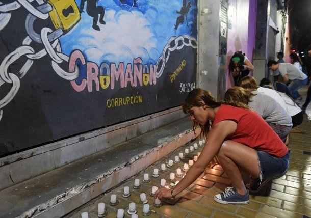 Actos por los 14 años de la tragedia de Cromañón