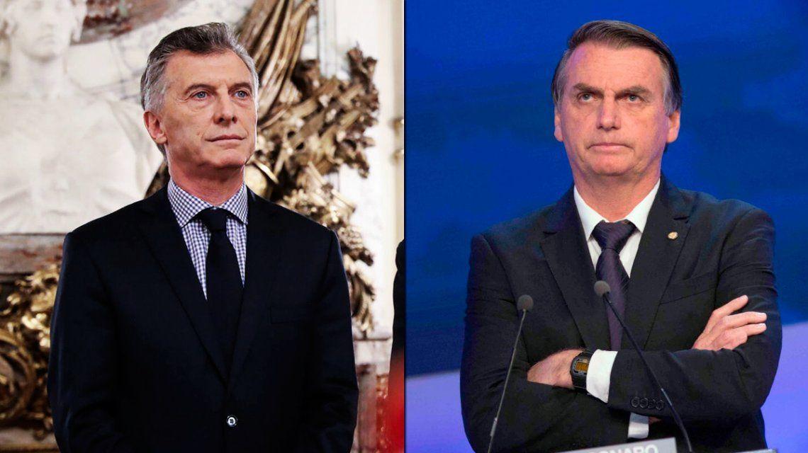 Con un tibio tuit, Macri saludó a Bolsonaro desde sus vacaciones en Villa La Angostura