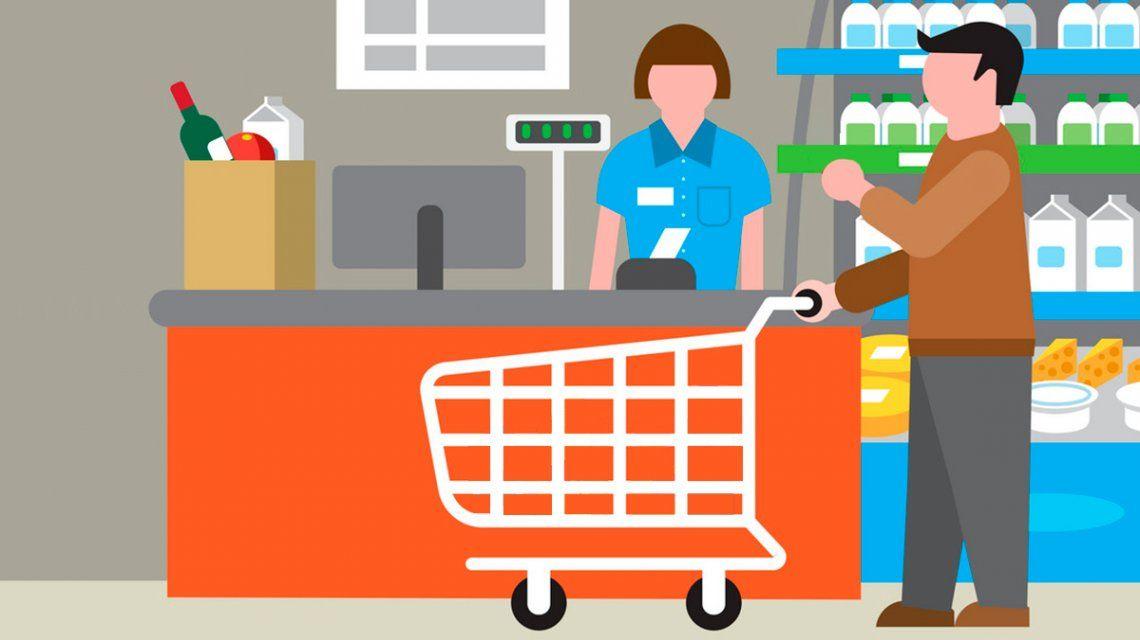 Cuatro de cada 10 argentinos pagan el supermercado con tarjeta de crédito