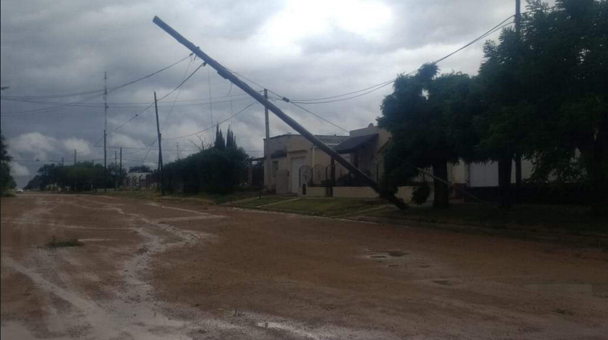 El temporal pasó por Tres Arroyos