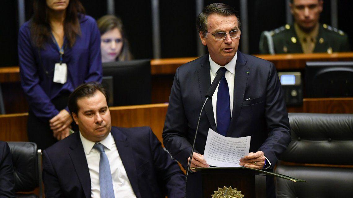 Vamos a combatir la ideología de género y otras 20 frases que dejó Bolsonaro en su asunción como presidente de Brasil