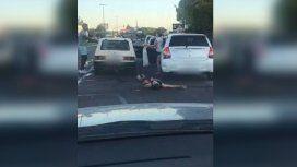 Le dieron el alta al hombre que le fracturaron el cráneo en una pelea de tránsito