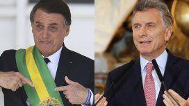 La respuesta de Bolsonaro a Macri con críticas a Lula y Cristina