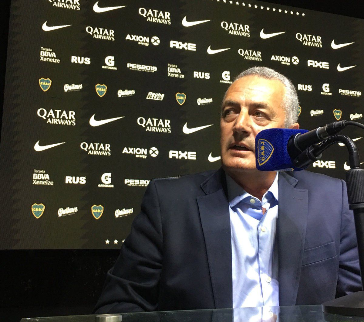 Gustavo Alfaro asumió en Boca