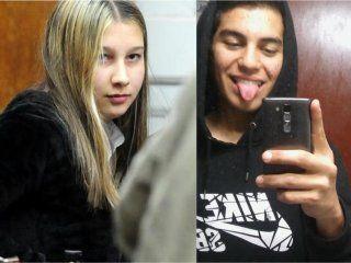 Matías Caudana y Nahir Galarza