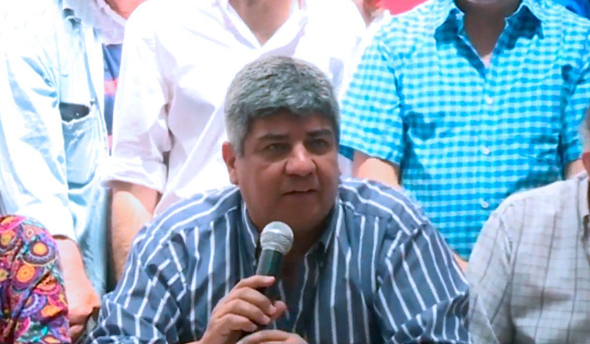 Pablo Moyano: Este modelo es insoportable y ojalá que el pueblo transmita su bronca en las urnas