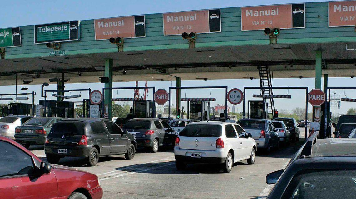 Fuerte aumento: los peajes de la Ciudad están un 34,8% más caros para los autos