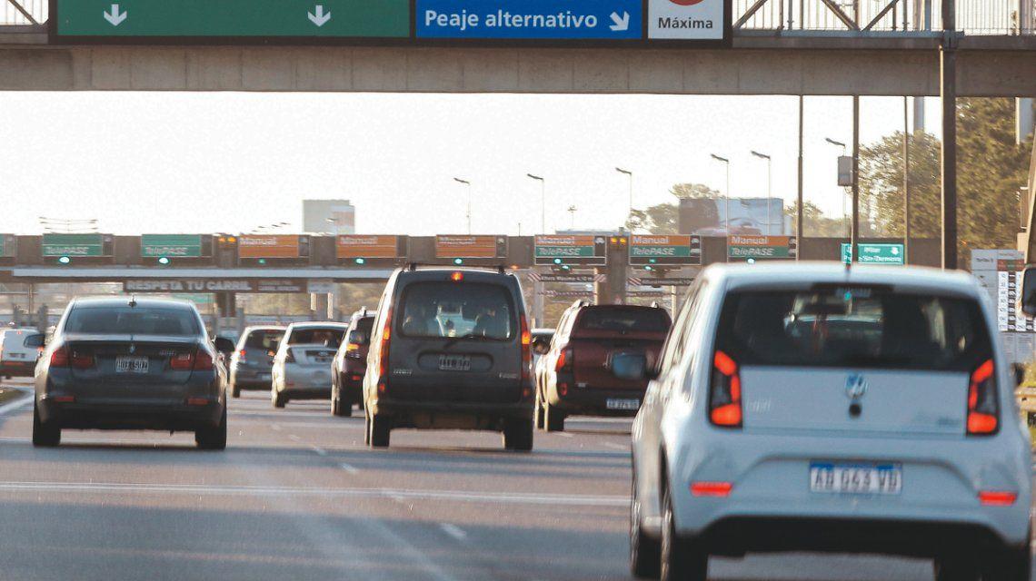 Las multas por exceso de velocidad en los accesos Norte y Oeste llegan hasta los $7 mil