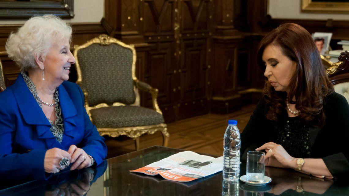 Estela de Carlotto pidió por la vuelta Cristina Kirchner: No van a poder demolerla