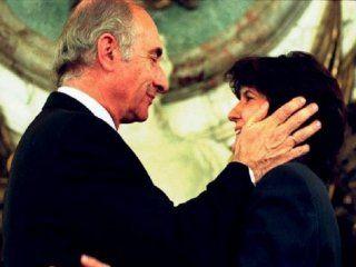 Fernando De La Rúa y Patricia Bullrich