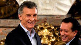 Mauricio Macri y Dante Sica