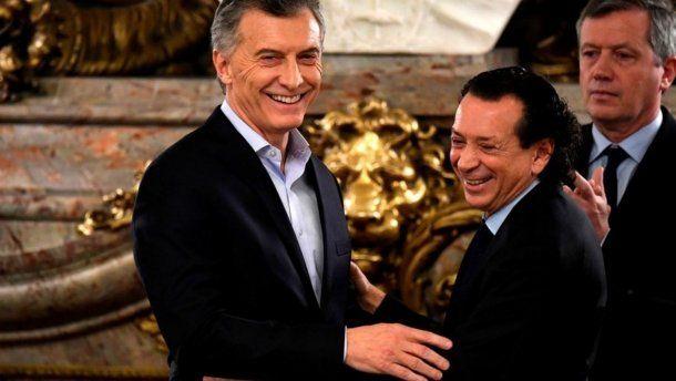 Mauricio Macri y Dante Sica<br>