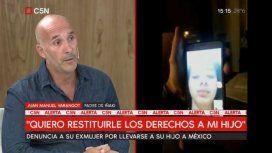 Un padre denuncia que su ex mujer se llevó engañado a su hijo a México