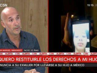 un padre denuncia que su ex mujer se llevo enganado a su hijo a mexico