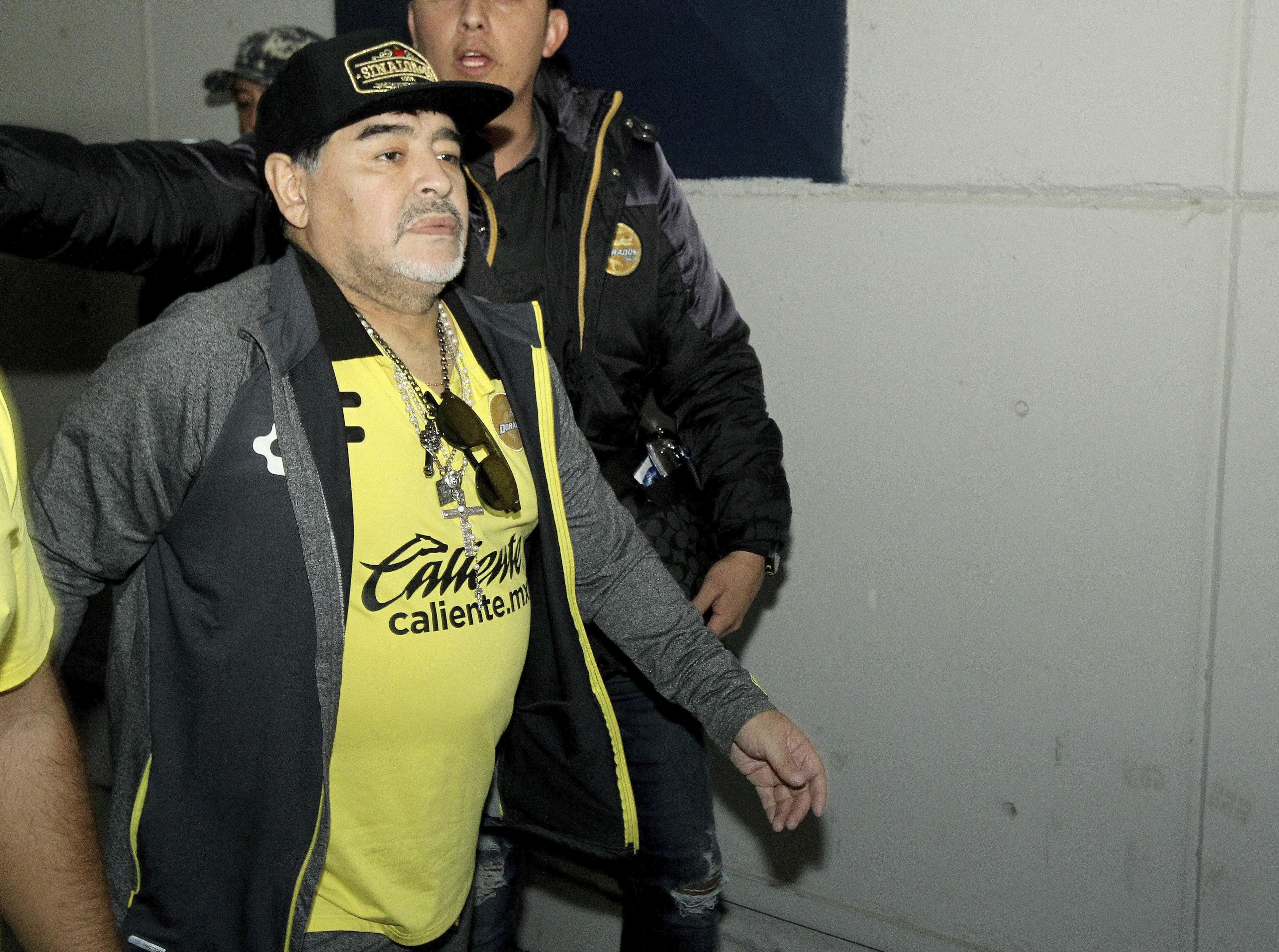 Diego Armando Maradona en Dorados de Sinaloa