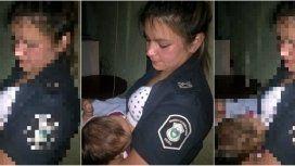 Micaela Mongiano amamantó a un bebé que perdió a su madre