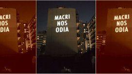 Macri nos odia, la foto viral del ruidazo