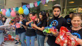 C5N y Punto de Encuentro juntaron miles de juguetes para los chicos en Reyes