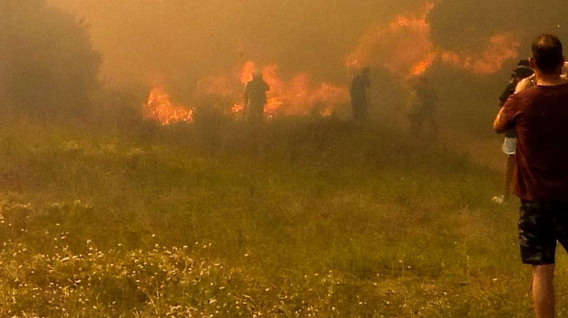 Incendio en Villa Gesell