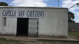 El comedor de la Capilla San Cayetano. Foto: Cadena 3.
