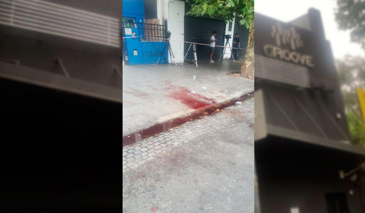 Dos jóvenes fueron heridos a la salida de un boliche en Palermo