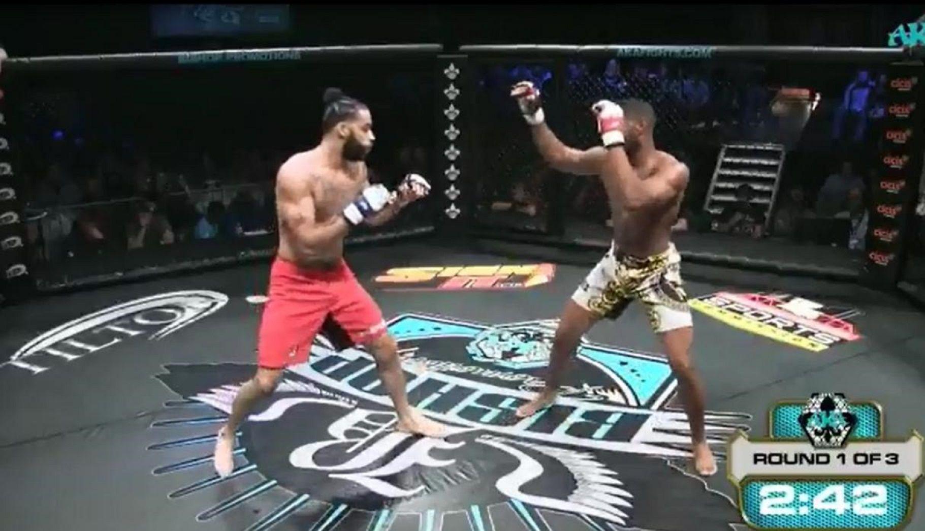 VIDEO: La escalofriante lesión de un luchador de MMA en pleno combate