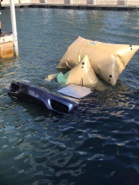 <div>Tiró la Ferrari al agua en Palm Beach - Crédito: Code 3</div><div tabindex=