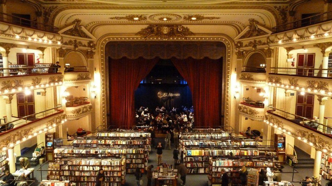 El Ateneo Grand Splendid, considerada como la librería más linda del mundo