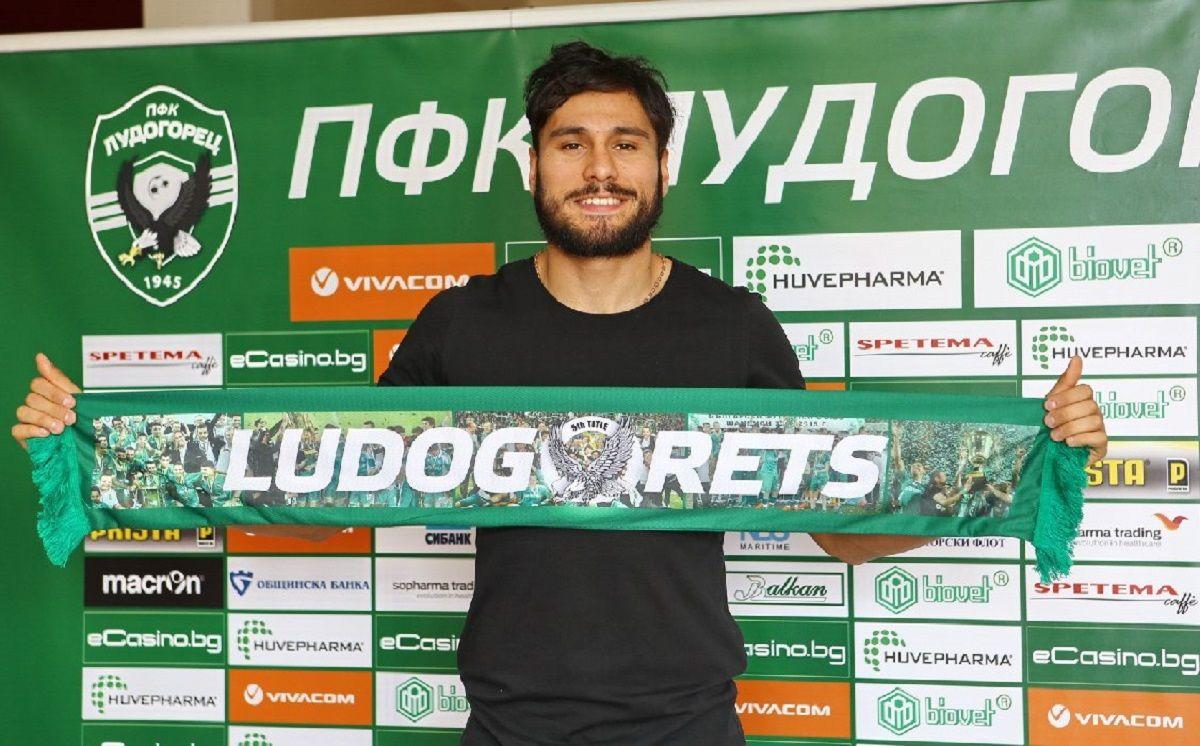 José Luis Palomino en el Ludogorets