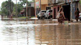 Madre e hija murieron ahogadas en un arroyo desbordado por el temporal en Corrientes
