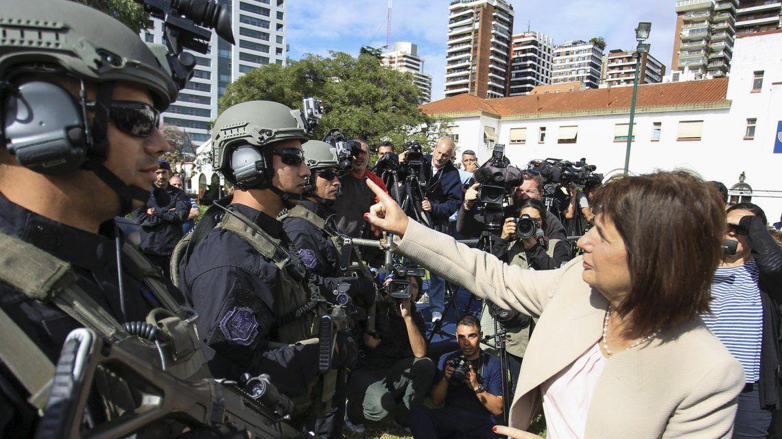 Bullrich apuntó contra los organismos de Derechos Humanos: No están del lado del policía asesinado