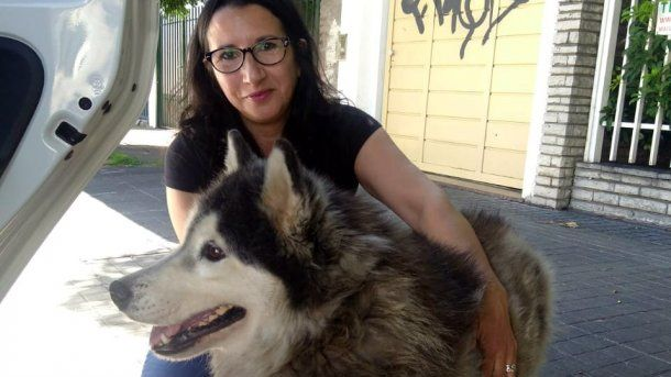 Alejandra, la mujer que rescató a Chornyk<br>