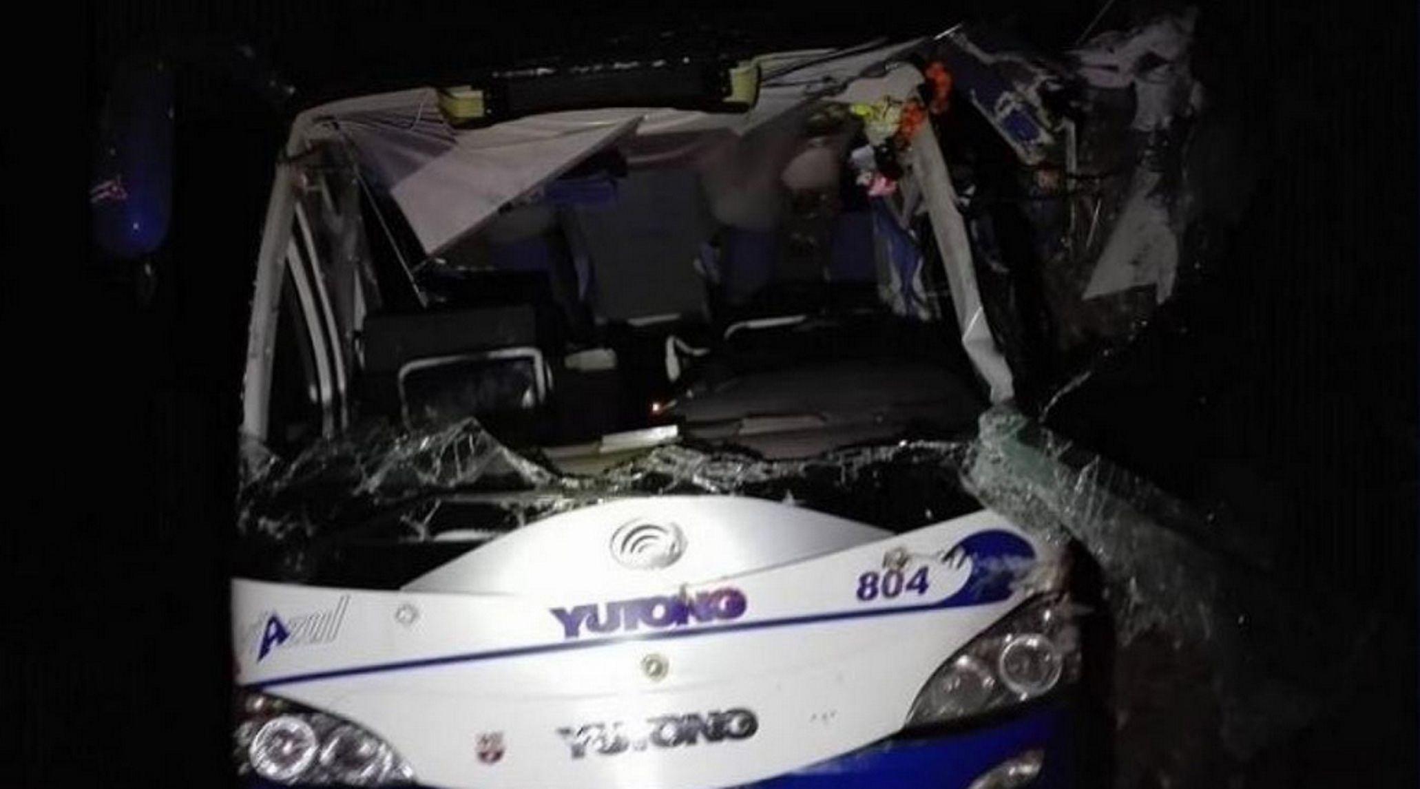 Dos turistas argentinas murieron en un accidente de micro en Cuba