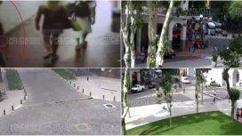 Así siguieron las cámaras a Michelle Medula