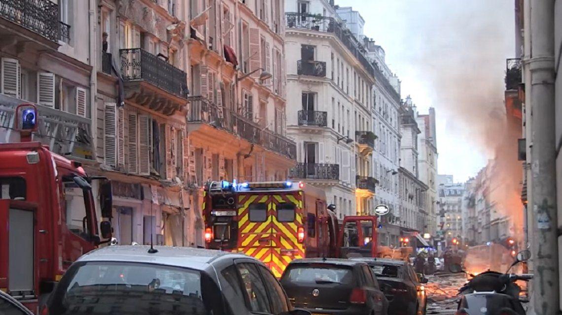 Explotó una panadería en París: cuatro personas murieron y hay más de 30 heridos