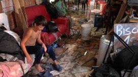 Cuatro muertos y miles de evacuados por el temporal en el Litoral