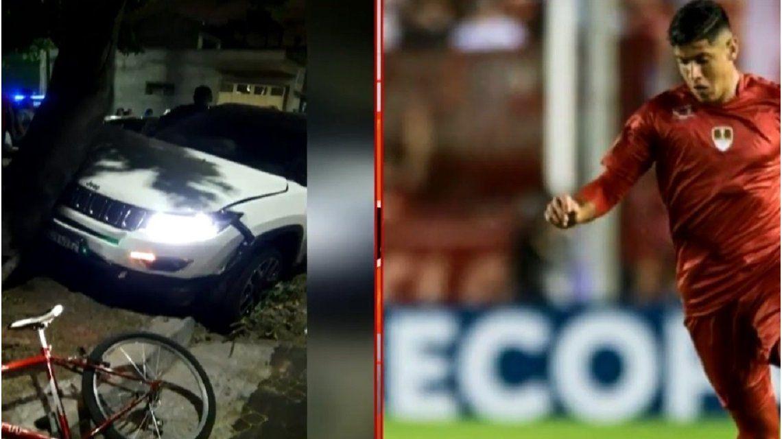 Alan Franco se bajó de la camioneta y fue a preguntarle a Camila cómo estaba, dijo el representante del futbolista