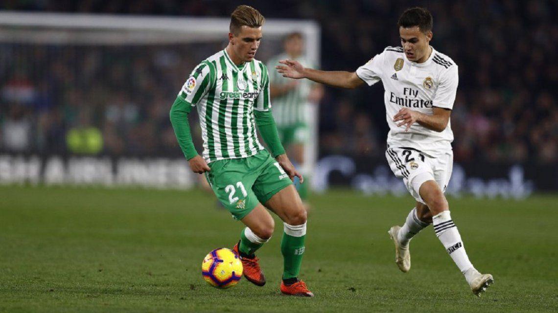 Giovani Lo Celso la rompió ante el Real Madrid