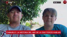 Gonzalo y Renato Barrera, los dueños de Chimuelo