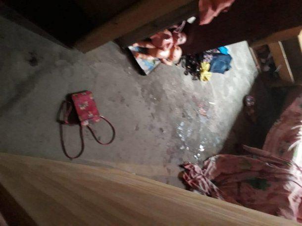 La habitación donde apuñalaron a la vícitma. Foto: El Día