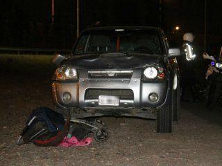 La camioneta embistió a una familia y mató a una nena y adolescente