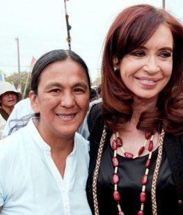 Milagro Sala y Cristina Kirchner
