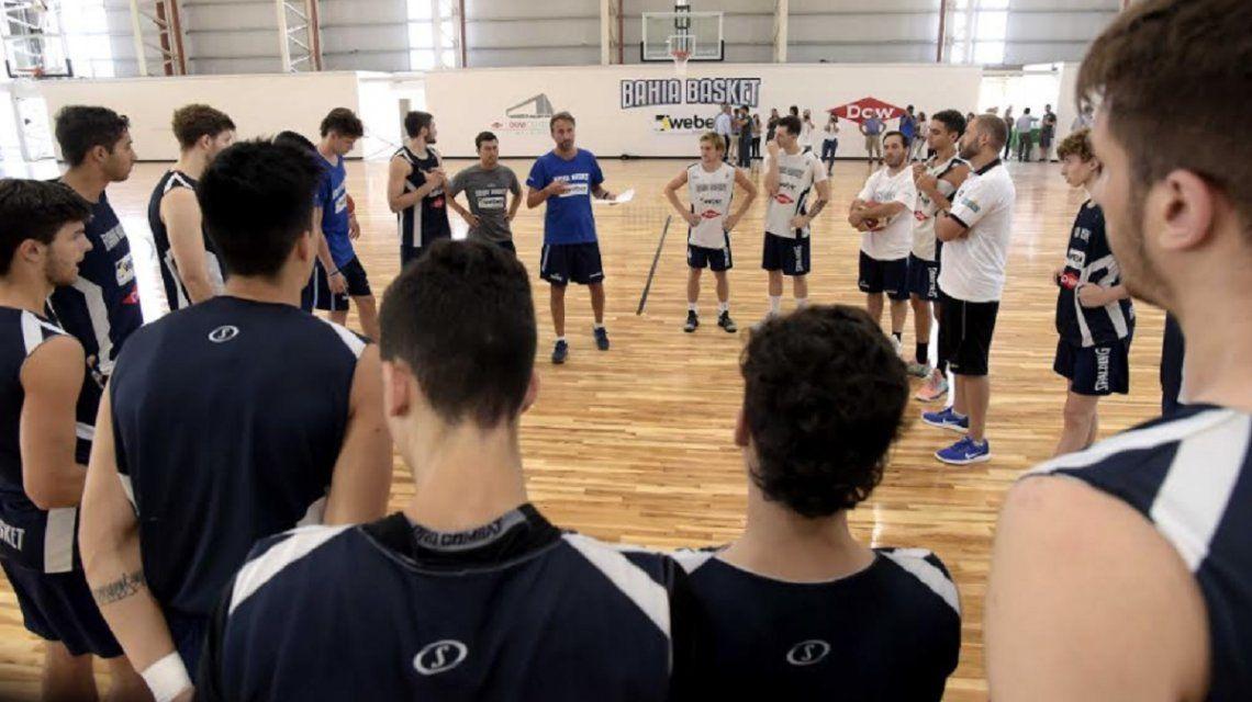 Bahía Basket juega en la Liga Nacional con una base de jóvenes talentosos. Su primer partido en el Dow Center podría ser a fin de temporada.