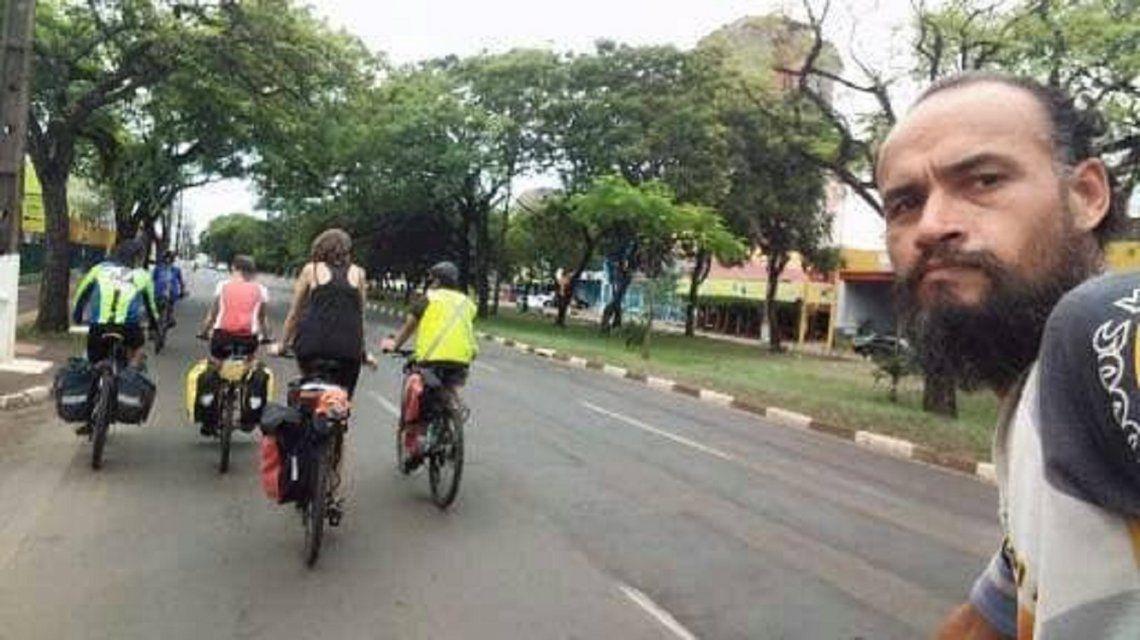 Mataron a un ciclista argentino en Brasil: creen que fue un intento de robo