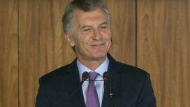 La frase de Macri en portugués tras su primer encuentro con Bolsonaro
