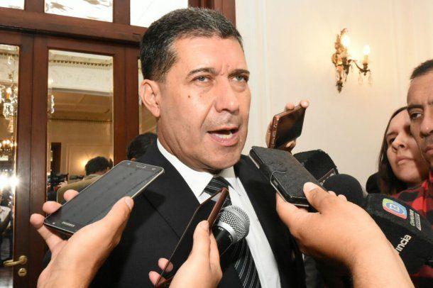 Sergio Casas, gobernador de La Rioja<br>